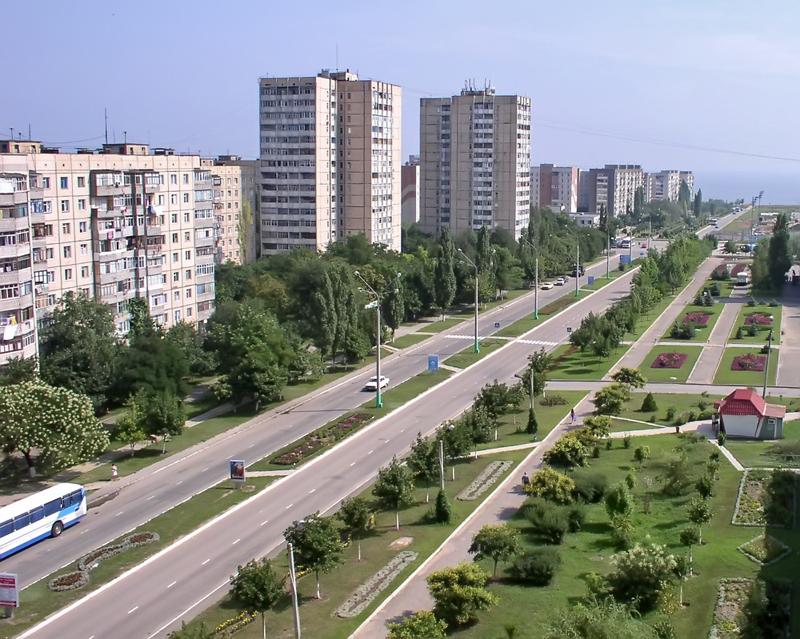 Проспект Григорьевского Десанта в городе Южное Одесская область
