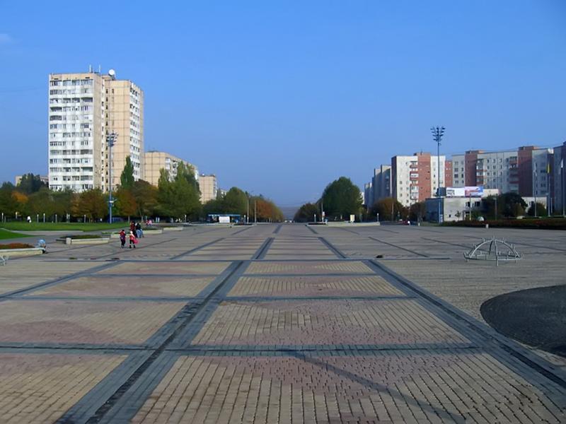 Площадь города Южного Одесская область