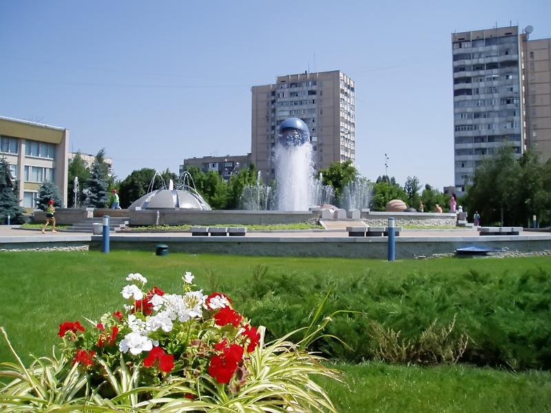 Фонтан города Южного Одесская область